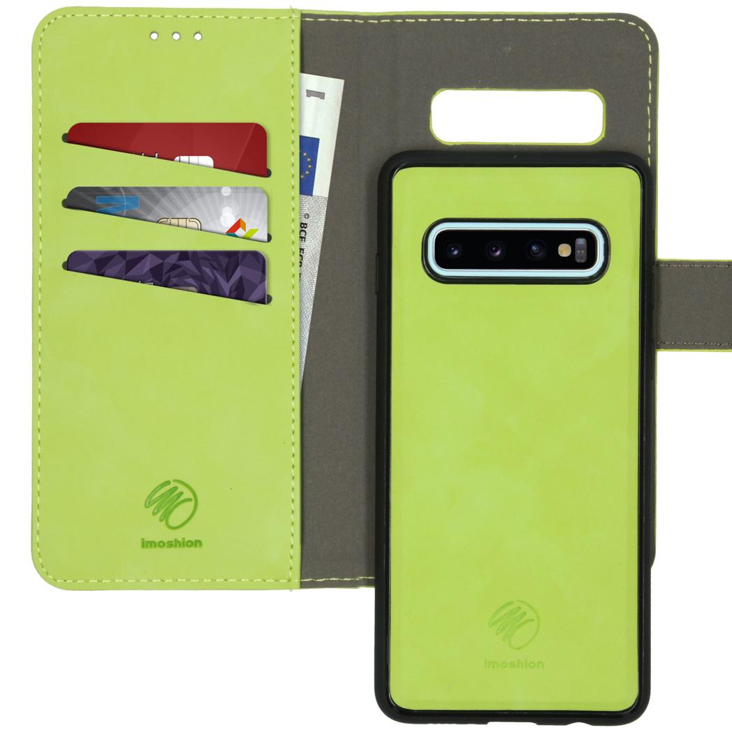 iMoshion Uitneembare 2-in-1 Luxe Booktype Samsung Galaxy S10 - Groen