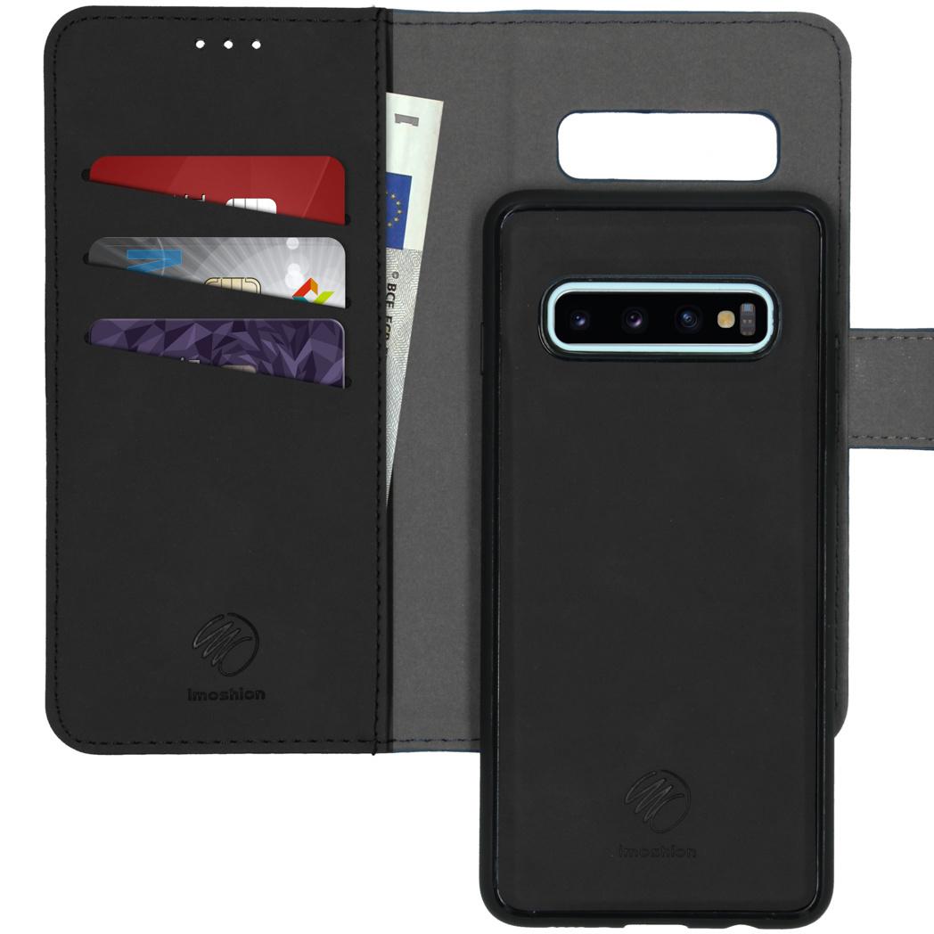 iMoshion Uitneembare 2-in-1 Luxe Booktype Samsung Galaxy S10 - Zwart