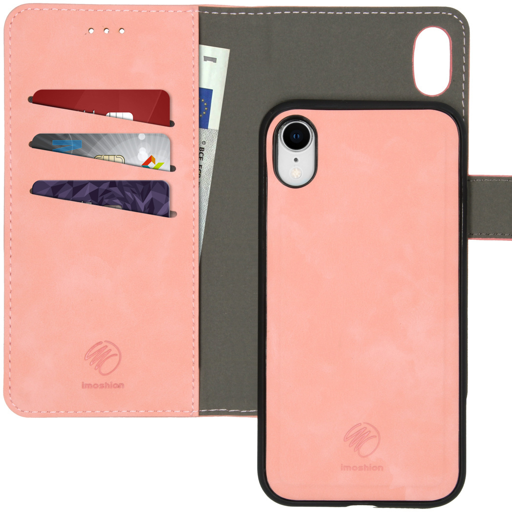 iMoshion Uitneembare 2-in-1 Luxe Booktype iPhone Xr - Roze