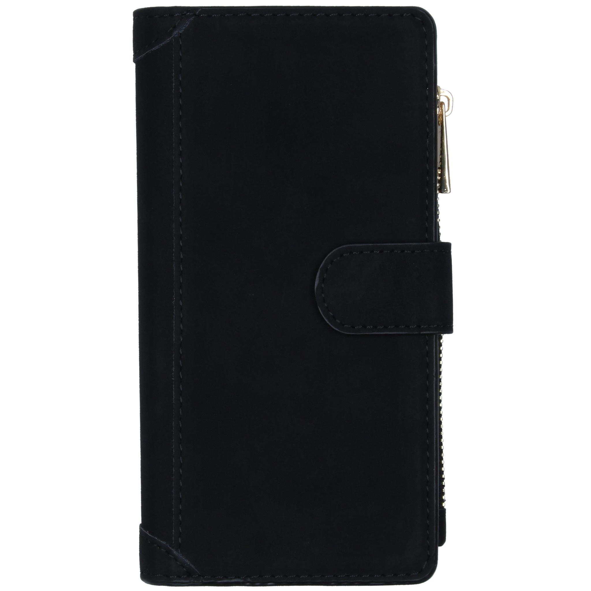 Luxe Portemonnee Samsung Galaxy A51 - Zwart