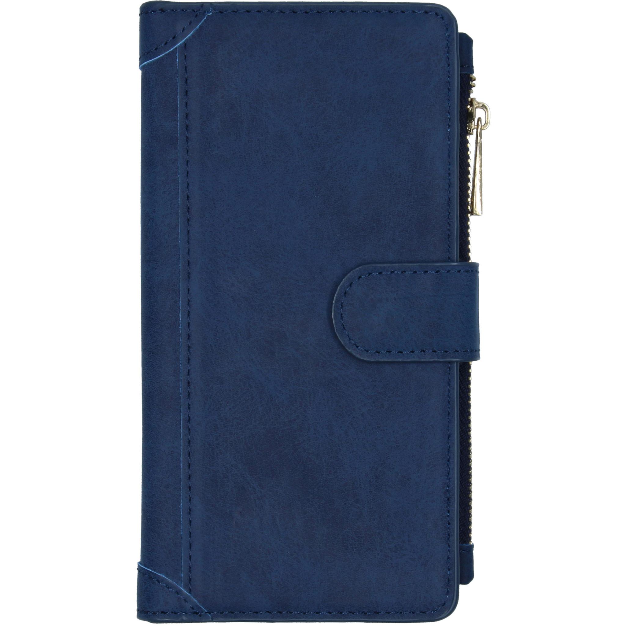 Luxe Portemonnee Samsung Galaxy A51 - Donkerblauw