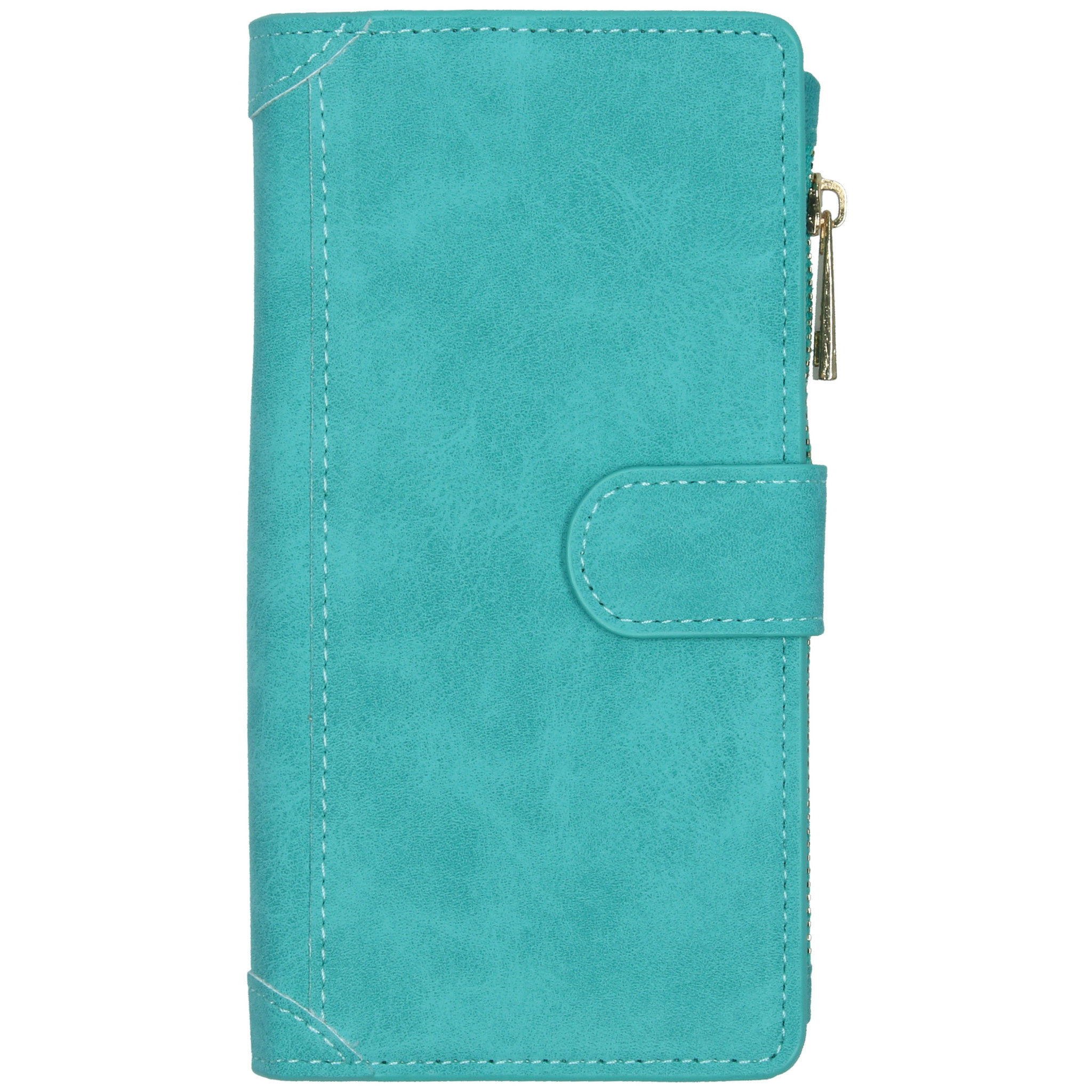 Luxe Portemonnee Samsung Galaxy A51 - Turquoise