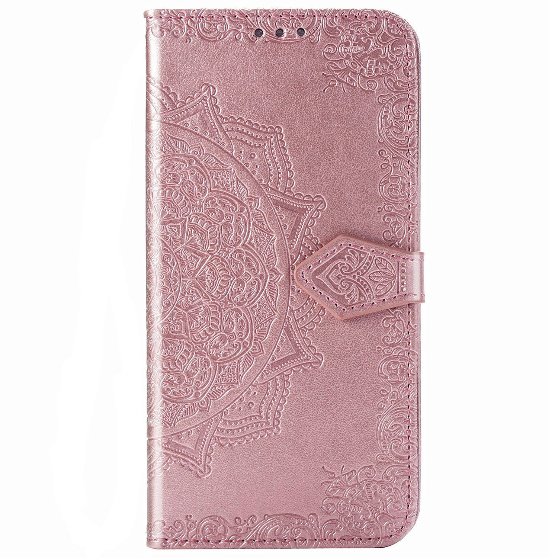 Mandala Booktype Samsung Galaxy A51 - Roze