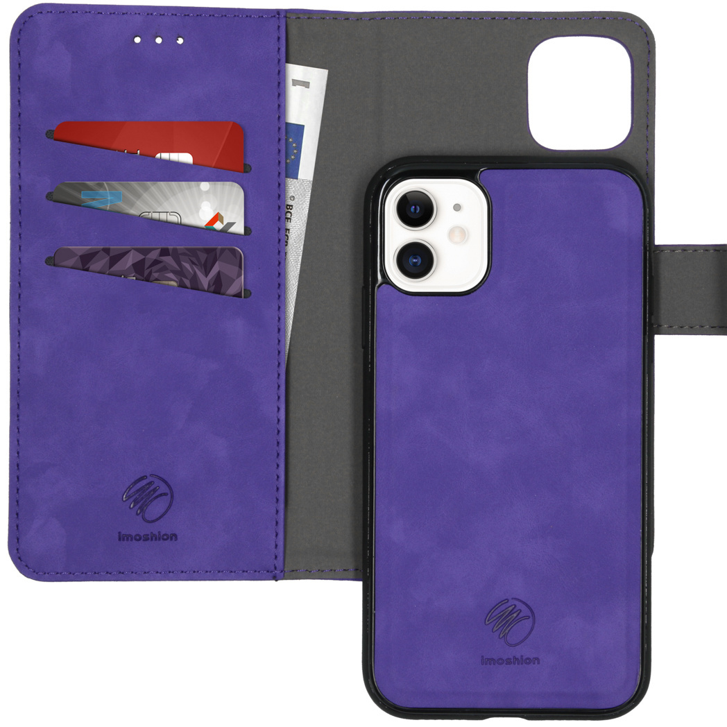 iMoshion Uitneembare 2-in-1 Luxe Booktype iPhone 11 - Paars