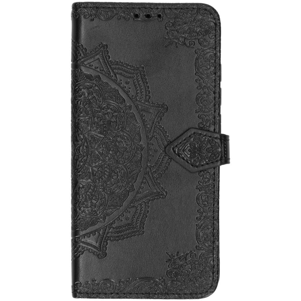 Mandala Booktype Xiaomi Mi Note 10 (Pro) - Zwart