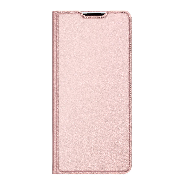 Dux Ducis Slim Softcase Booktype Huawei P40 Lite - Rosé Goud
