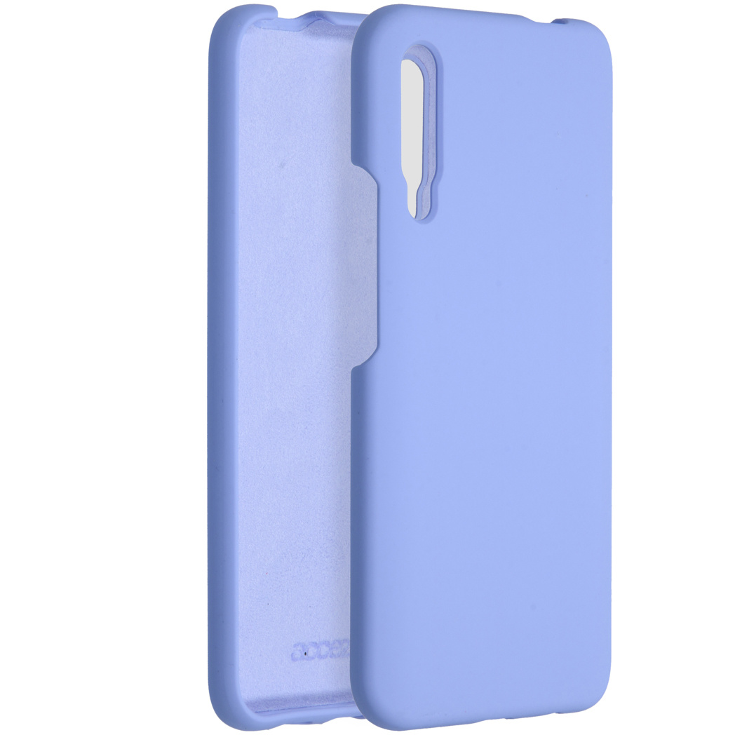 Accezz Liquid Silicone Backcover P Smart Pro / Huawei Y9s - Lilac
