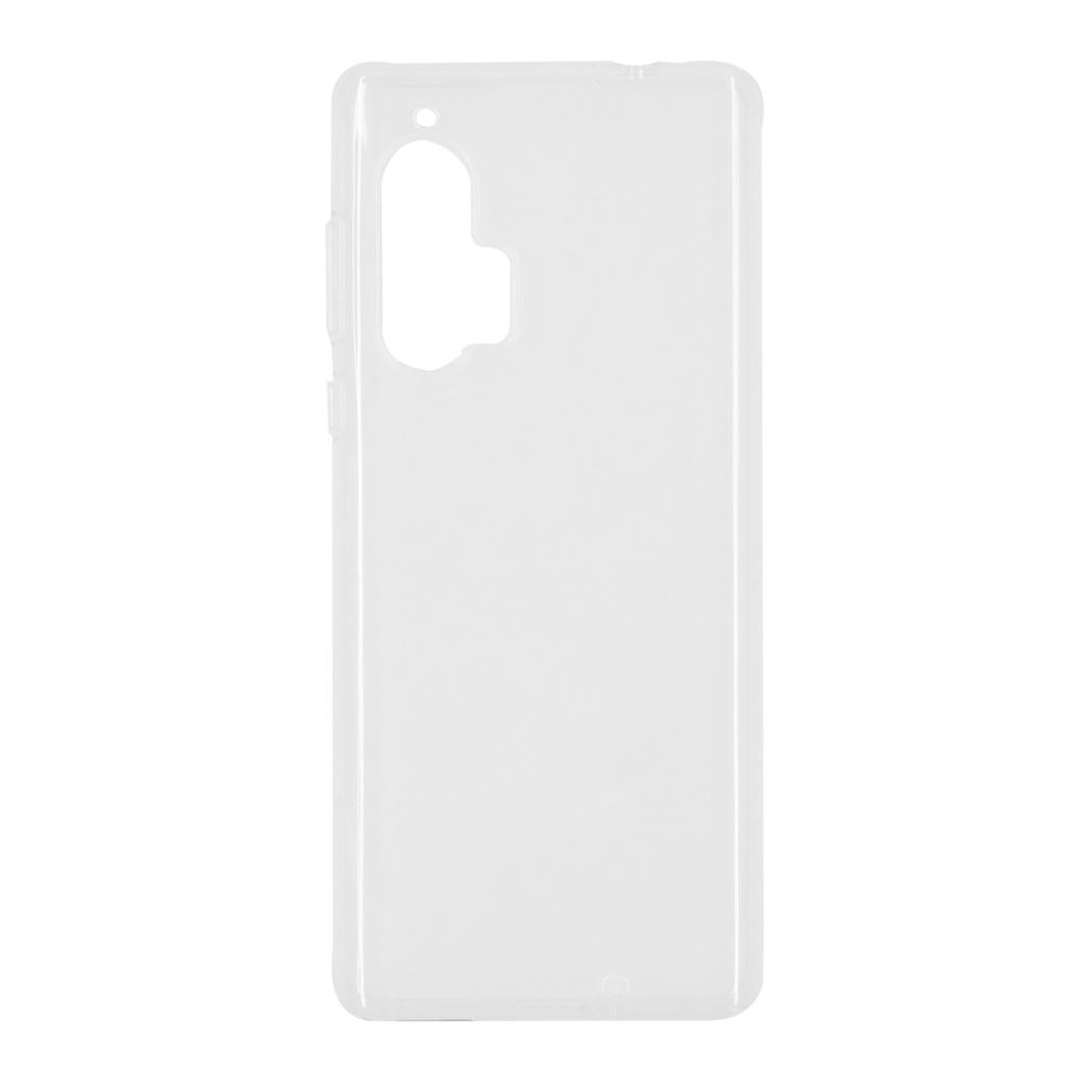 Softcase Backcover Motorola Edge Plus - Transparant
