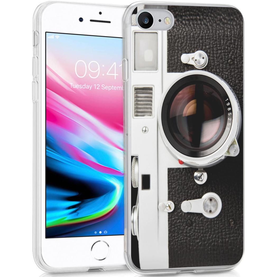 iMoshion Design hoesje iPhone SE (2020) / 8 / 7 / 6s - Classic Camera