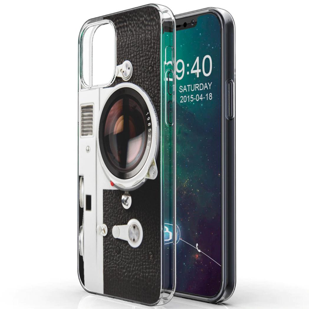 iMoshion Design hoesje iPhone 12 (Pro) - Classic Camera