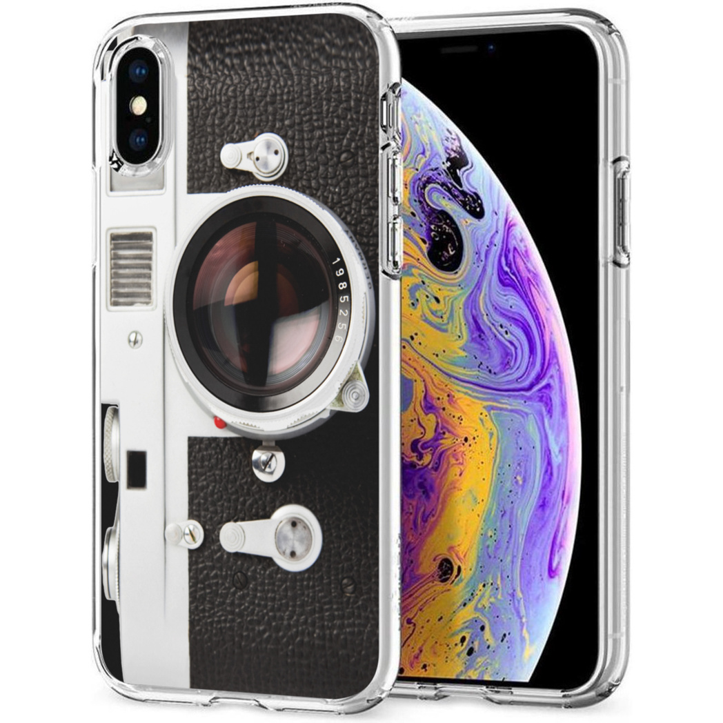 iMoshion Design hoesje iPhone Xs / X - Classic Camera