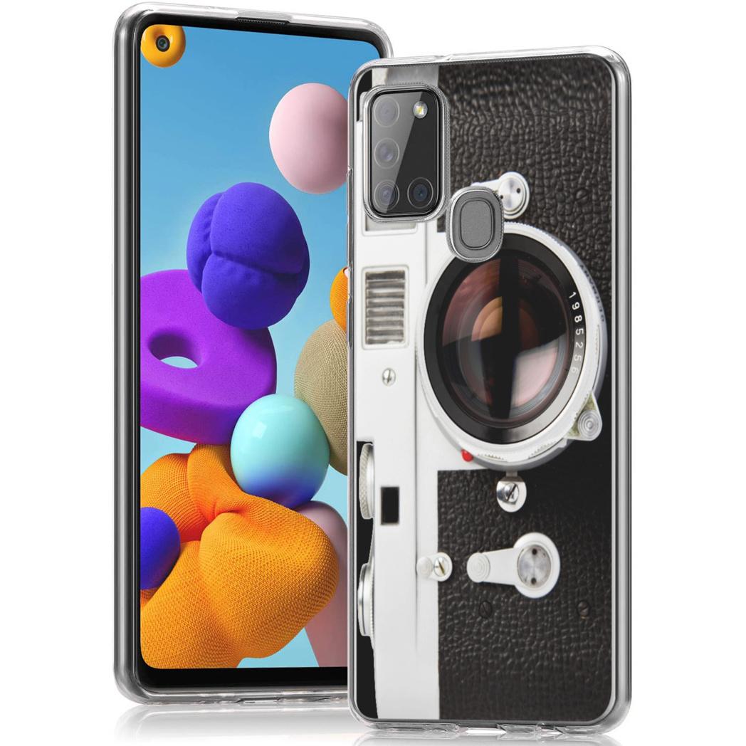 iMoshion Design hoesje Samsung Galaxy A21s - Classic Camera
