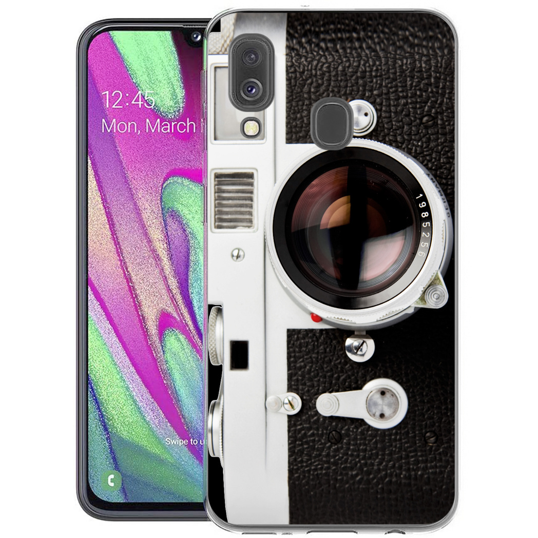 iMoshion Design hoesje Samsung Galaxy A40 - Classic Camera
