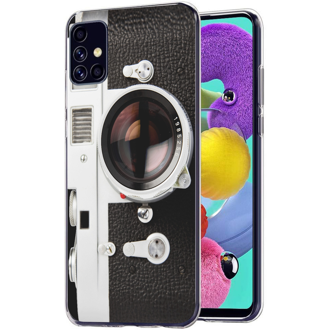 iMoshion Design hoesje Samsung Galaxy A51 - Classic Camera