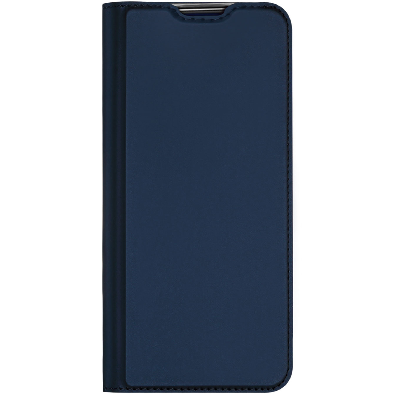 Dux Ducis Slim Softcase Booktype Samsung Galaxy A21s - Donkerblauw