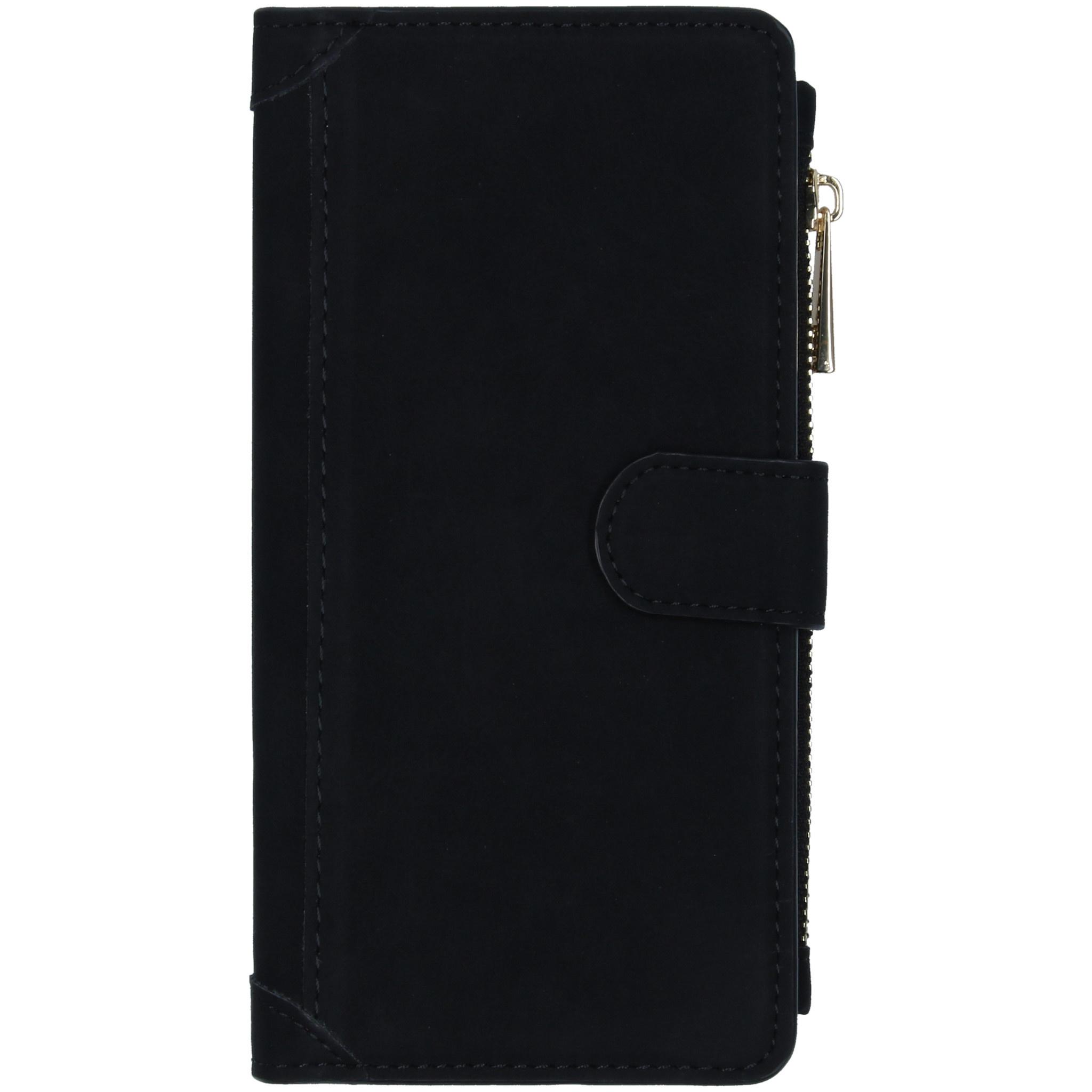 Luxe Portemonnee Samsung Galaxy A71 - Zwart