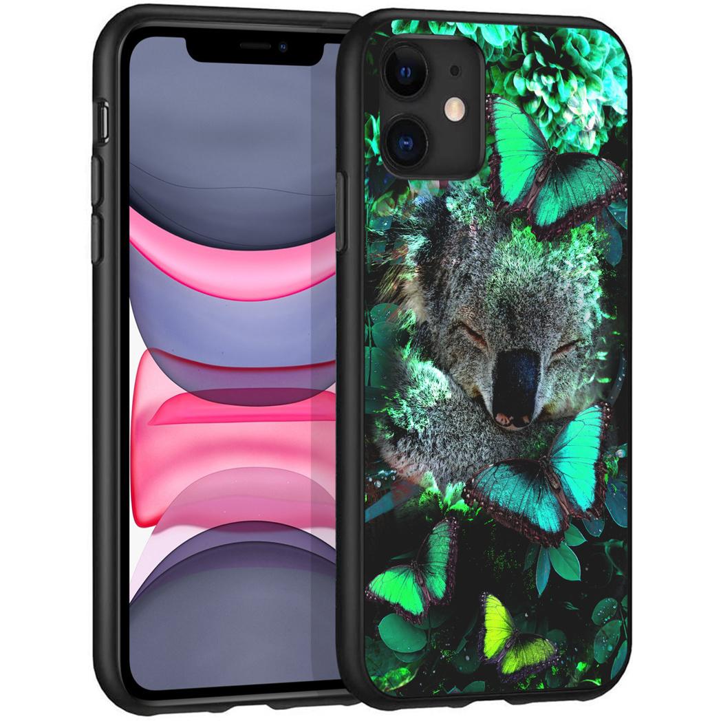 iMoshion Design hoesje iPhone 11 - Jungle - Koala