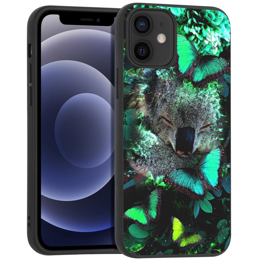 iMoshion Design hoesje iPhone 12 Mini - Jungle - Koala