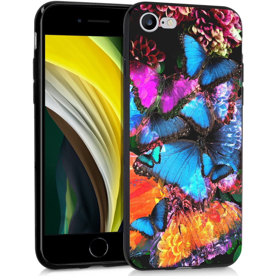 iMoshion Design hoesje iPhone SE (2020) / 8 / 7 - Jungle - Vlinder