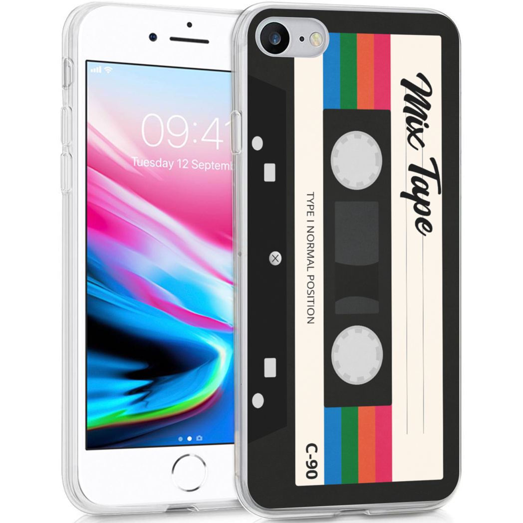 iMoshion Design hoesje iPhone SE (2020) / 8 / 7 / 6(s) - Cassette