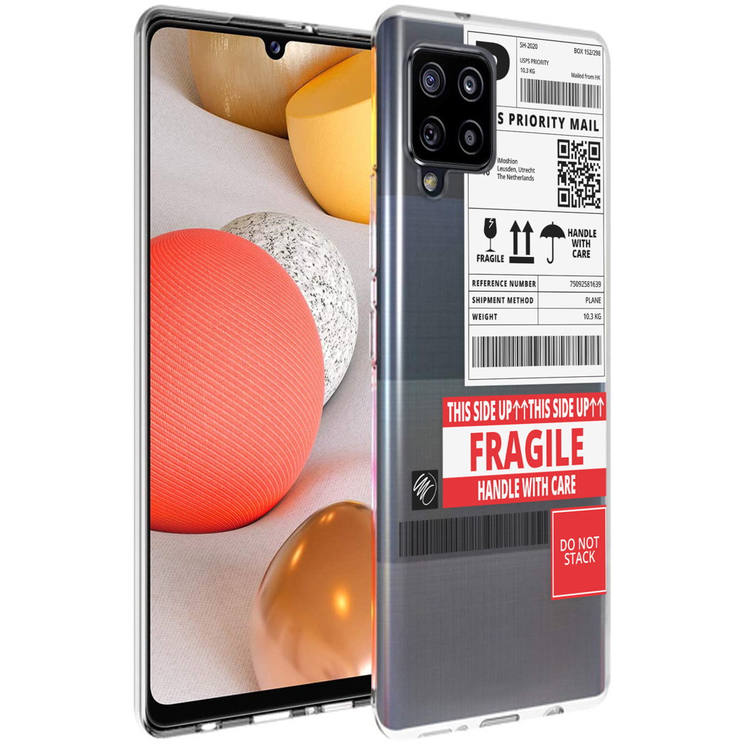 iMoshion Design hoesje Samsung Galaxy A42 - Label