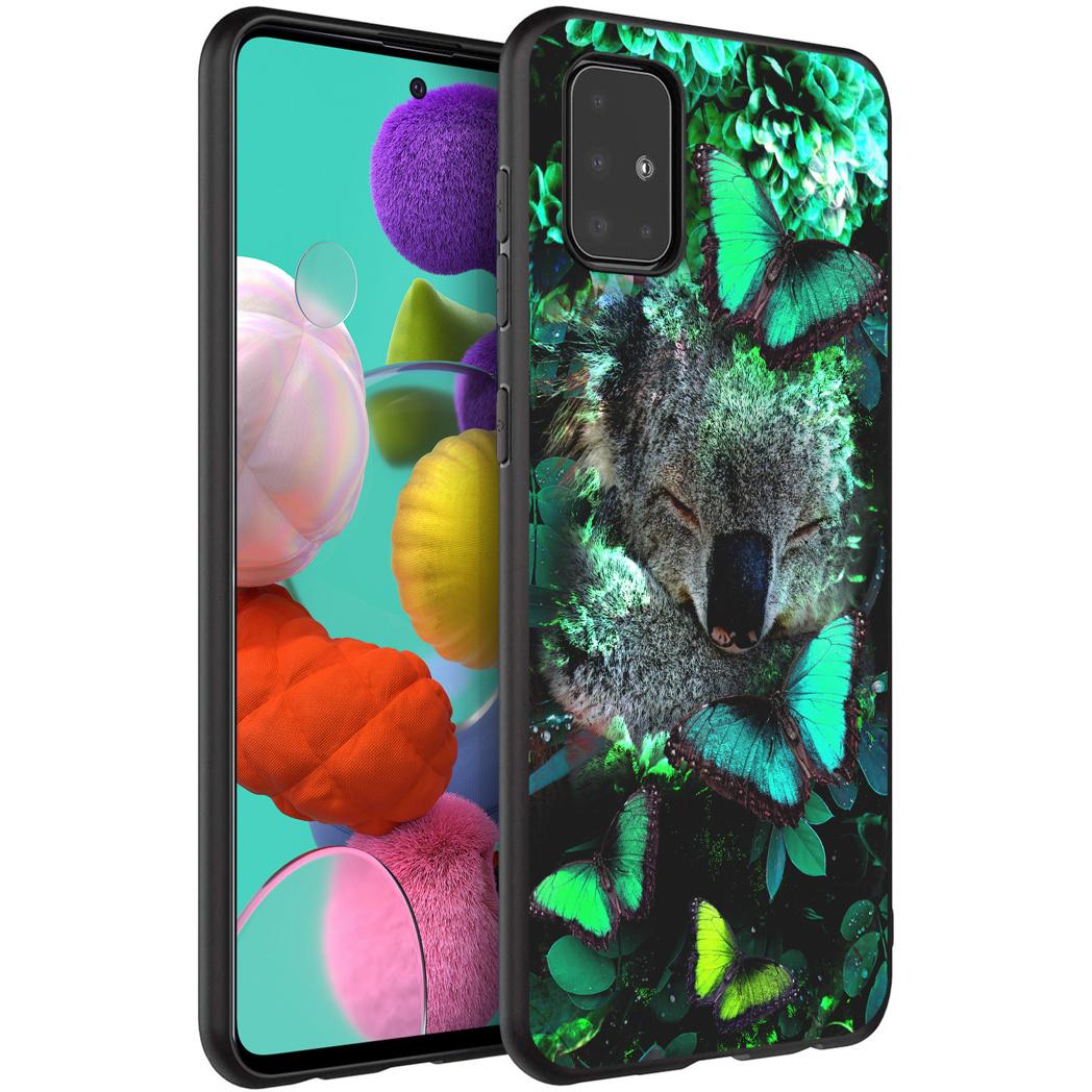 iMoshion Design hoesje Samsung Galaxy A51 - Jungle - Koala