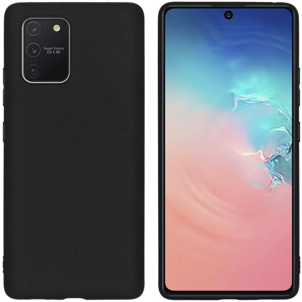 iMoshion Color Backcover Samsung Galaxy S10 Lite - Zwart