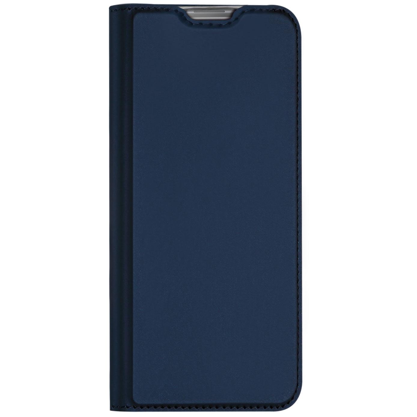 Dux Ducis Slim Softcase Booktype Samsung Galaxy Note 10 Lite - Blauw