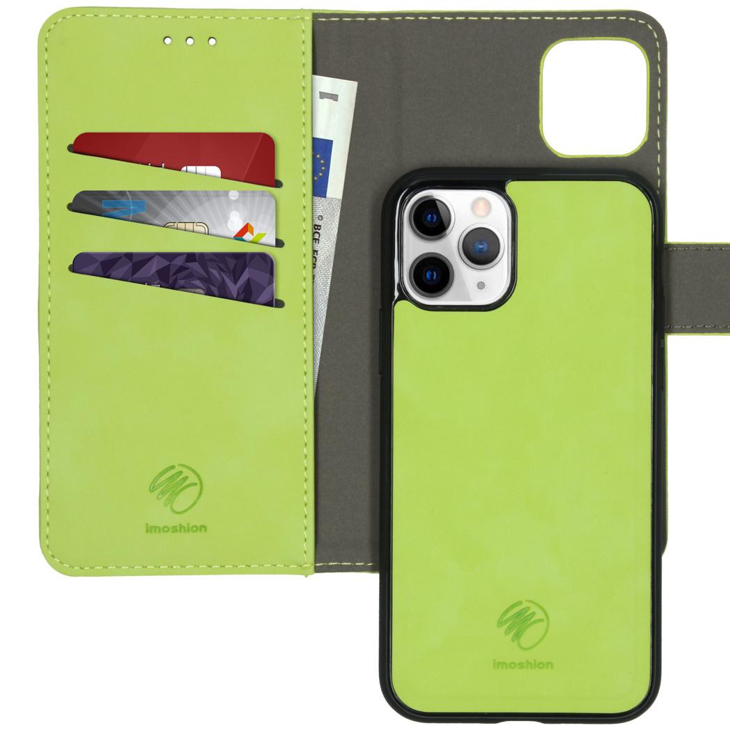 iMoshion Uitneembare 2-in-1 Luxe Booktype iPhone 11 Pro - Groen