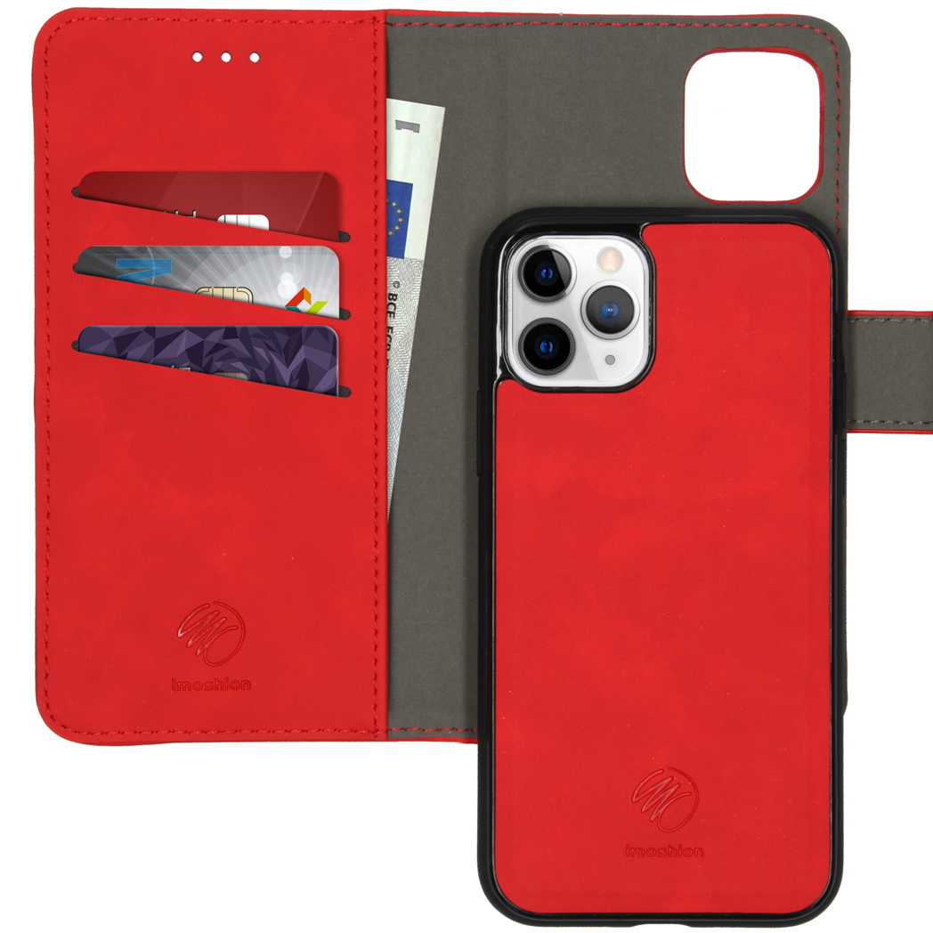 iMoshion Uitneembare 2-in-1 Luxe Booktype iPhone 11 Pro - Rood