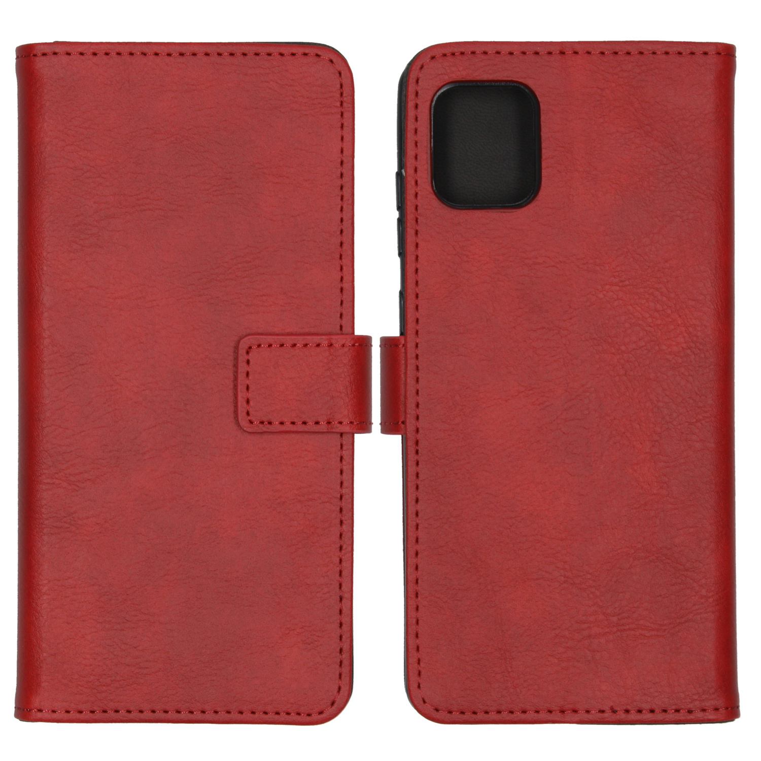 iMoshion Luxe Booktype Samsung Galaxy Note 10 Lite - Rood