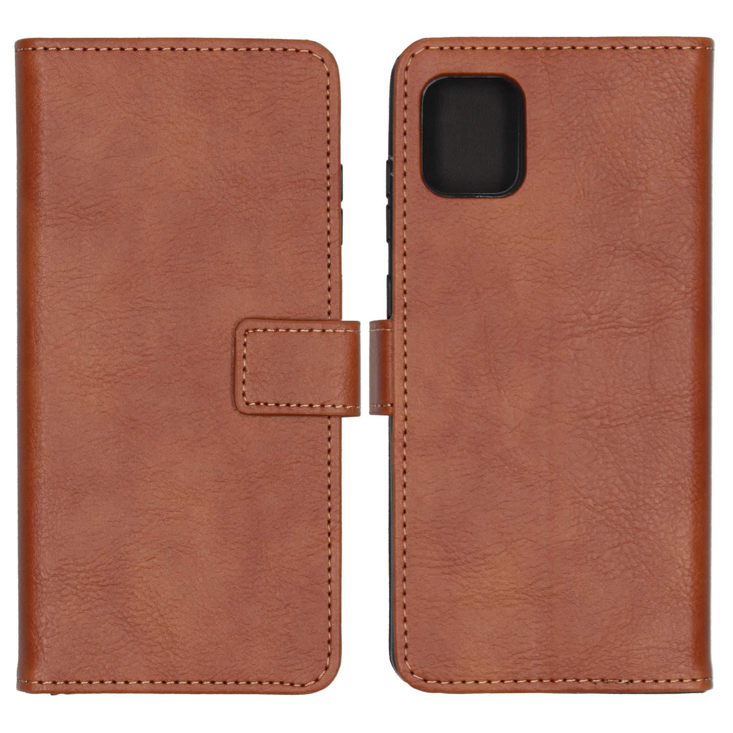 iMoshion Luxe Booktype Samsung Galaxy Note 10 Lite - Bruin