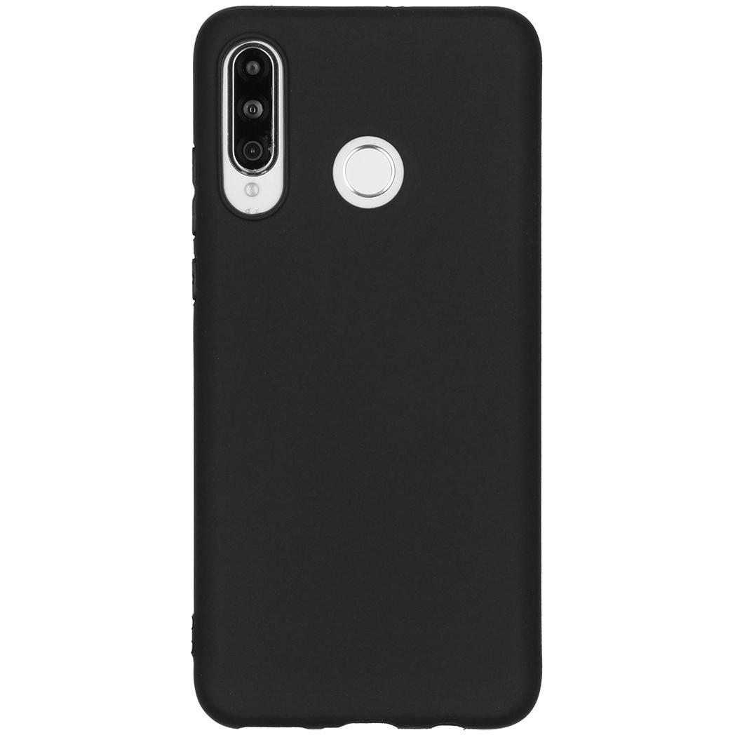 Color Backcover Huawei P30 Lite - Zwart