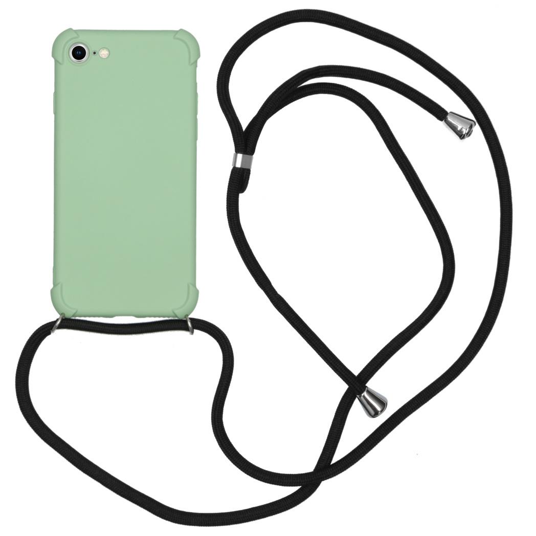 iMoshion Color Backcover met koord iPhone SE (2020) / 8 / 7 - Groen