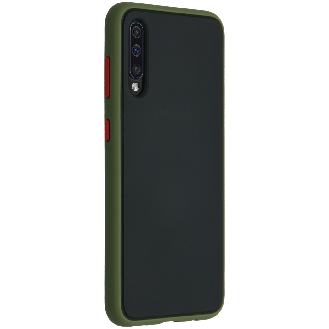 iMoshion Frosted Backcover Samsung Galaxy A50 / A30s - Groen