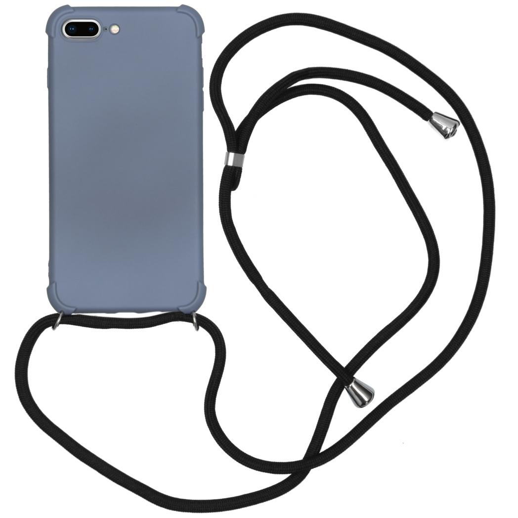 iMoshion Color Backcover met koord iPhone 8 Plus / 7 Plus - Grijs