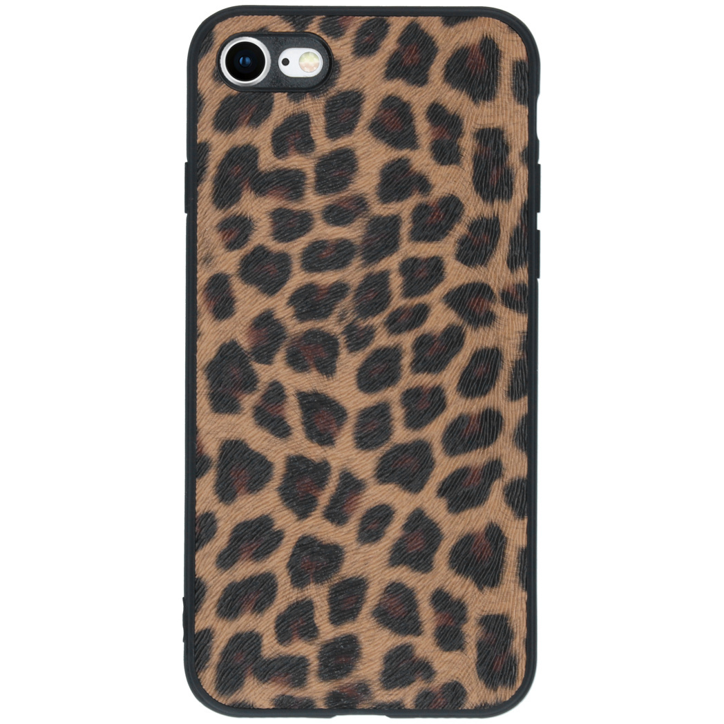 Hardcase Backcover iPhone SE (2020) / 8 / 7 - Luipaard