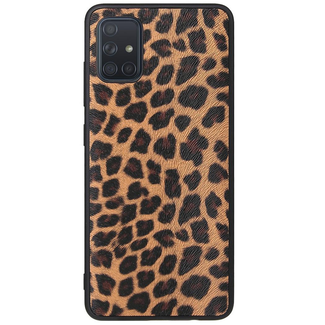 Hardcase Backcover Samsung Galaxy A71 - Luipaard