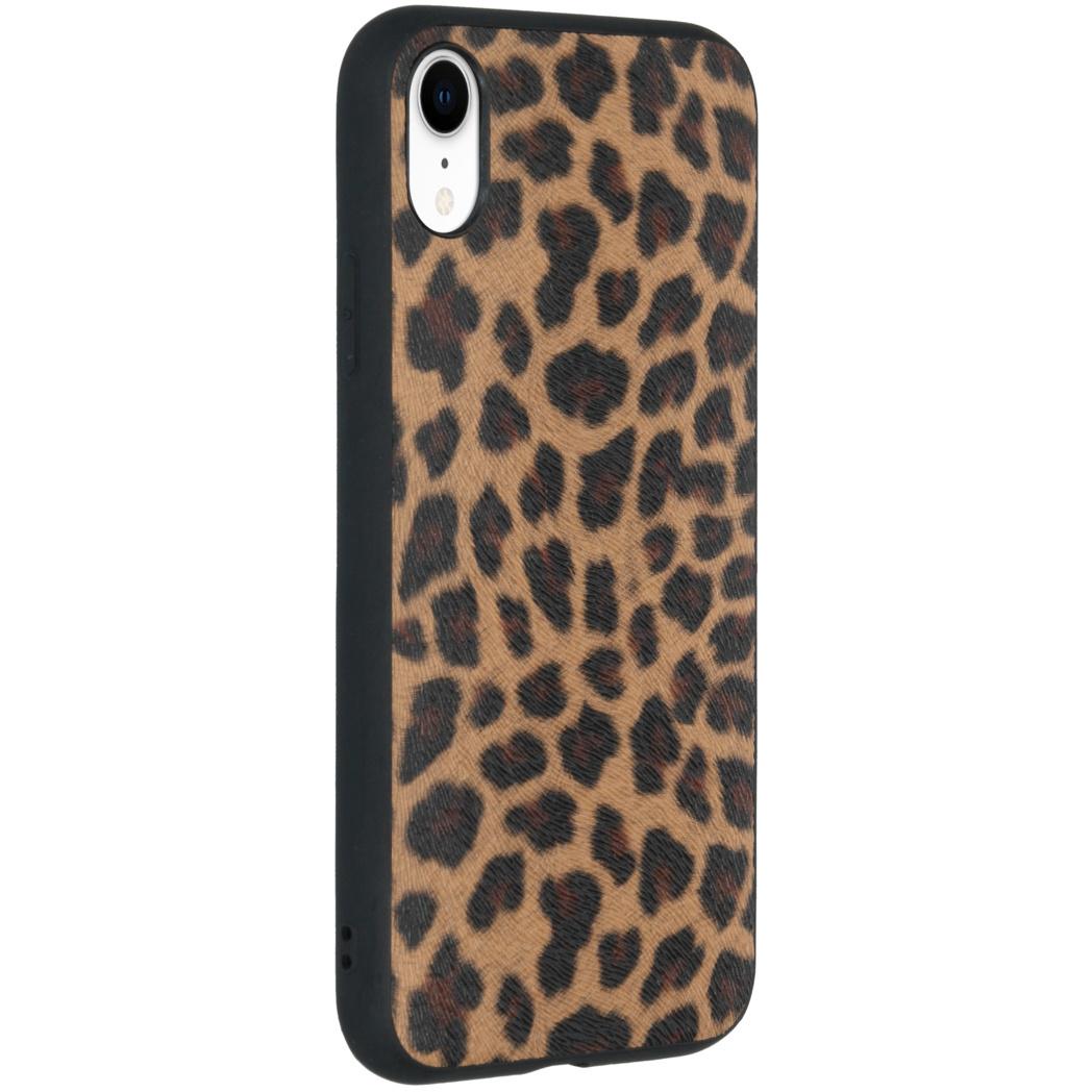 Hardcase Backcover iPhone Xr - Luipaard