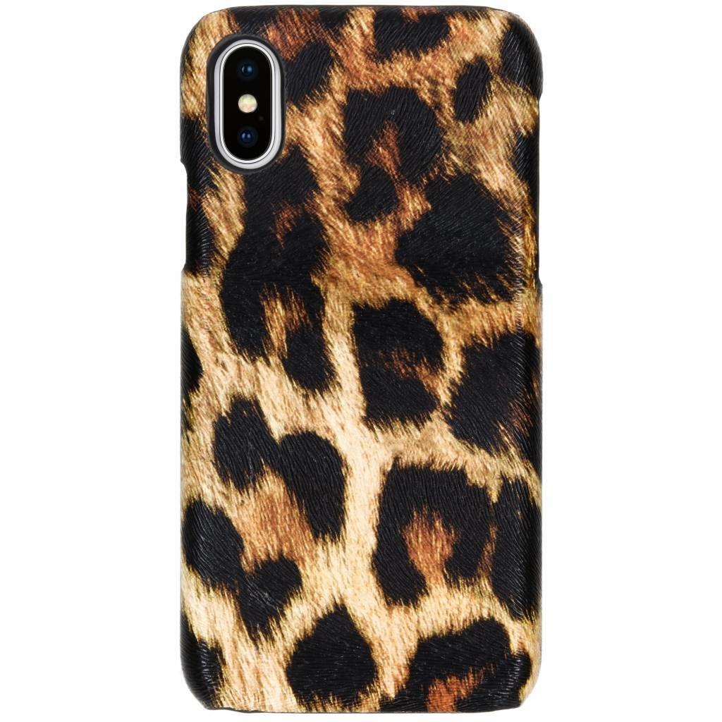 Luipaard Design Backcover iPhone X / Xs