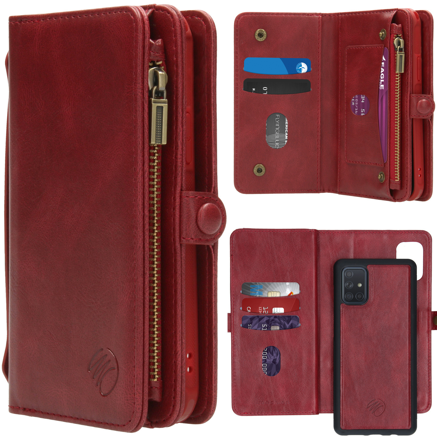 iMoshion 2-in-1 Wallet Booktype Samsung Galaxy A71 - Rood