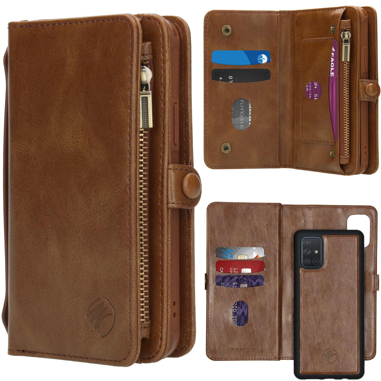 iMoshion 2-in-1 Wallet Booktype Samsung Galaxy A71 - Bruin