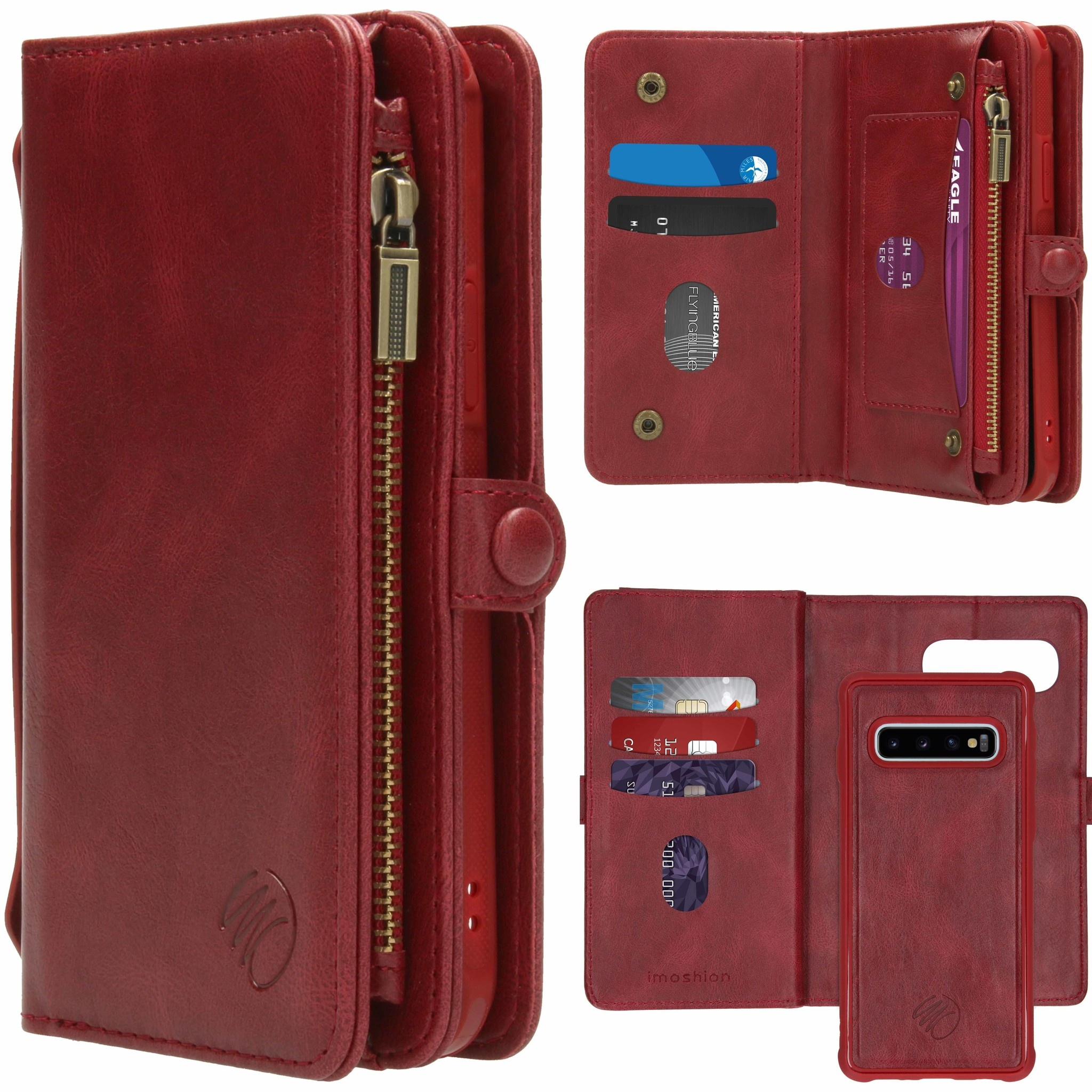 iMoshion 2-in-1 Wallet Booktype Samsung Galaxy S10 - Rood