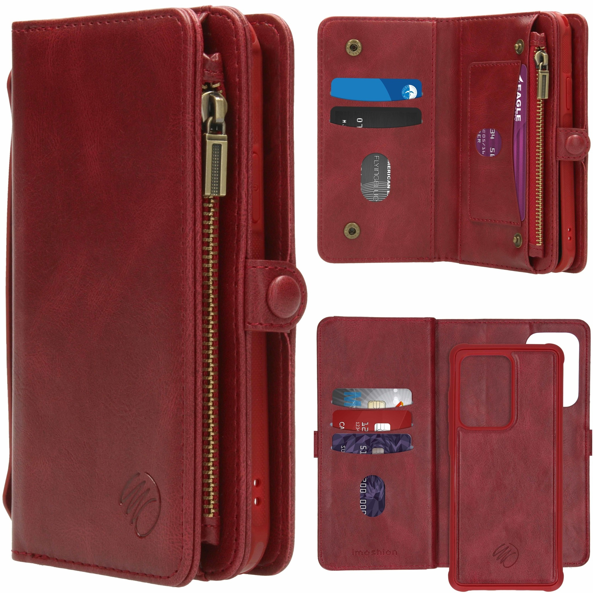 iMoshion 2-in-1 Wallet Booktype Samsung Galaxy S20 Ultra - Rood