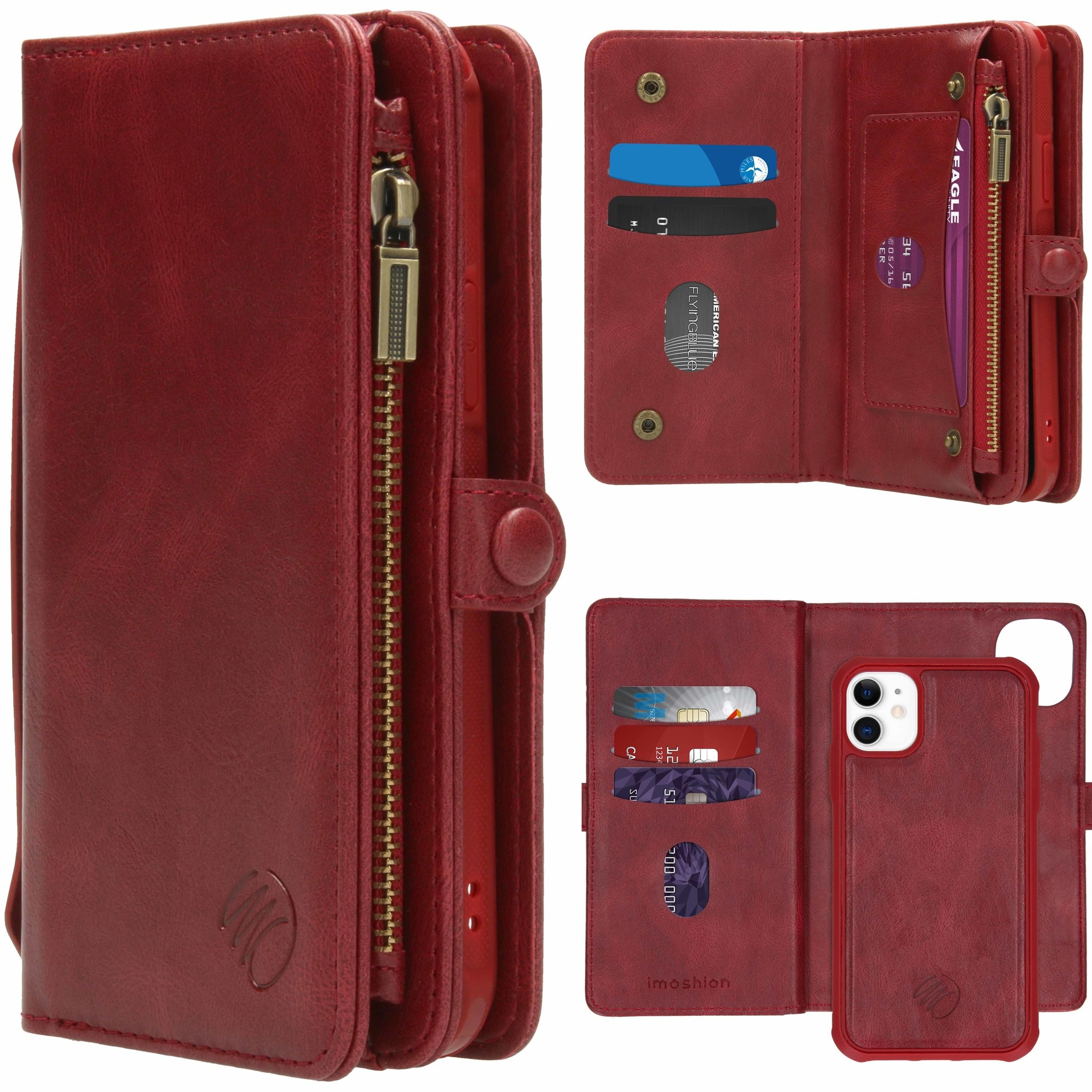 iMoshion 2-in-1 Wallet Booktype iPhone 11 - Rood