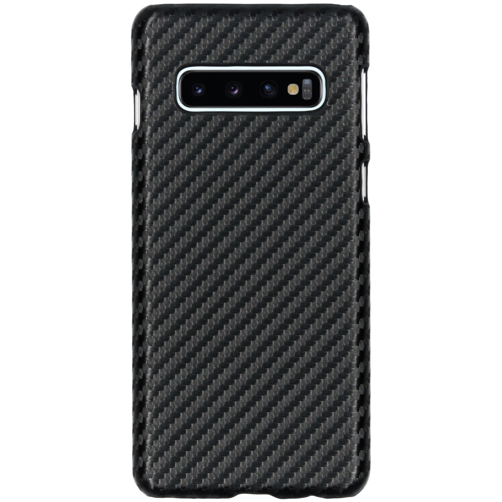 Carbon Hardcase Backcover Samsung Galaxy S10