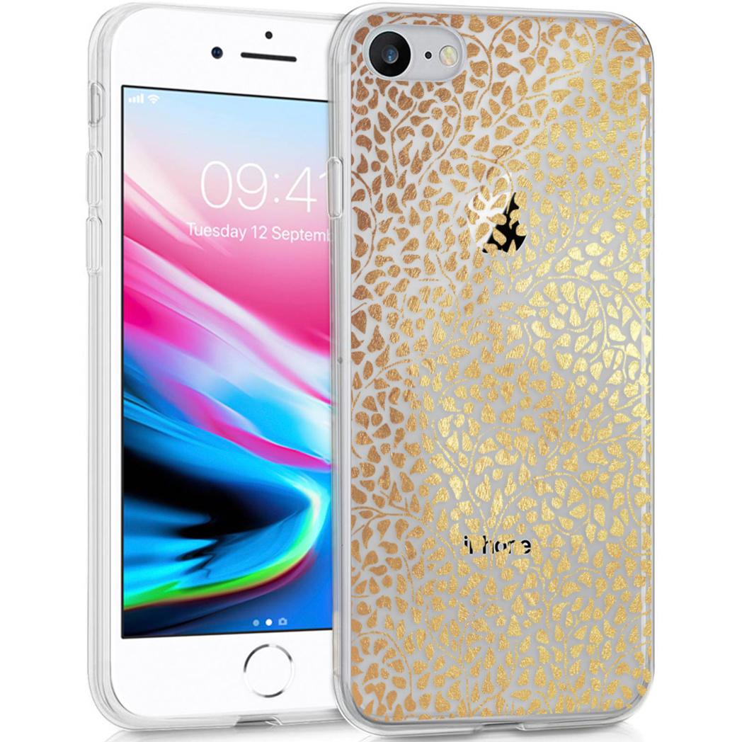 iMoshion Design hoesje iPhone SE (2020) / 8 / 7 / 6s - Grafisch -Goud