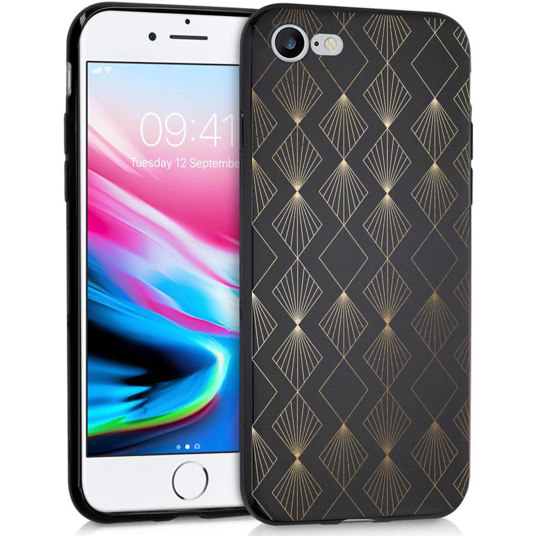 iMoshion Design hoesje iPhone SE (2020) / 8 / 7 - Patroon - Zwart