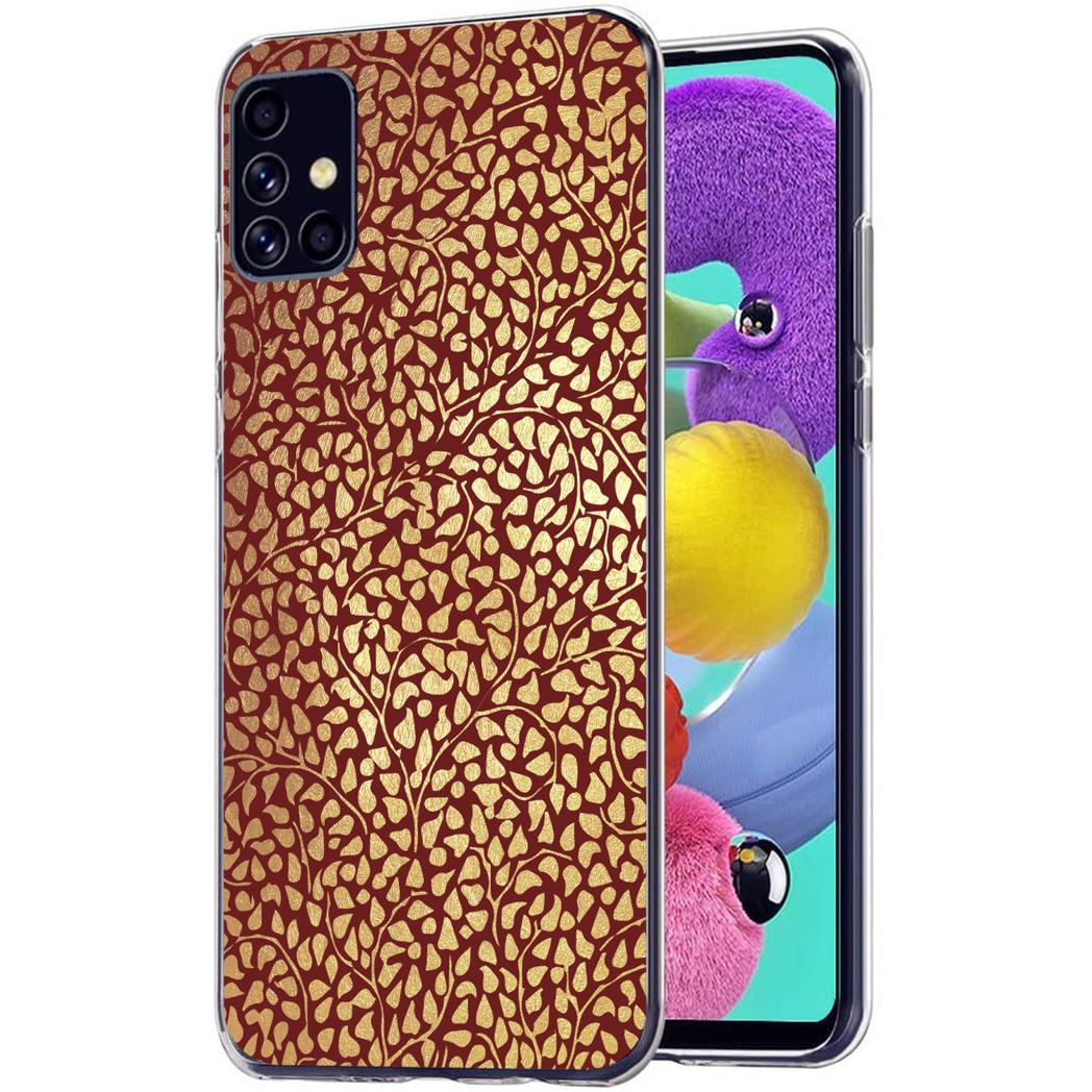 iMoshion Design hoesje Samsung Galaxy A51 - Grafisch - Rood