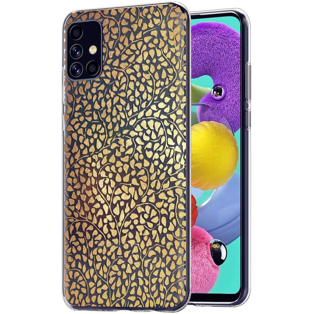 iMoshion Design hoesje Samsung Galaxy A51 - Grafisch - Goud